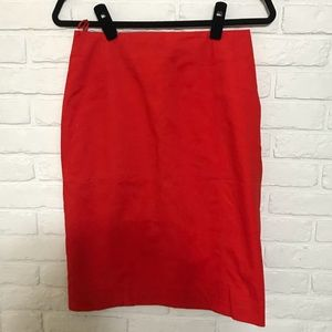 Poppy Red Kate Spade Saturday Skirtn